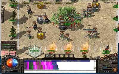 玩家在中变复古传奇中怎样放置挂机?