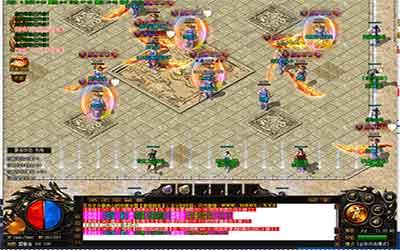 神器热血传奇私服鼎盛庆典活动游戏玩法共享!