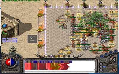中变热血传奇中战士职业在PK中必须把握的方法解析!