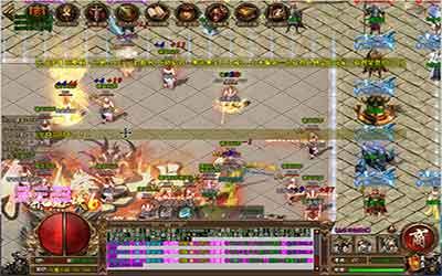 1.76火龙英雄传世骨魔洞的boss打法详解!