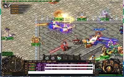 迷失传奇超变级别较低的玩家能到尸王殿地图里打怪 !