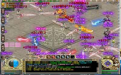 中变传奇单职业中恶魔殿是初期打宝比较好的地图!