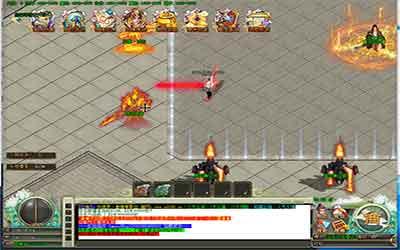 地狱桃源地图在1.76火龙英雄传世中能爆出什么武器装备?