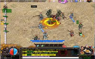 玩家在变态复古传奇里应用烈火剑法技能需要留意什么?