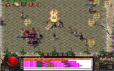 1.76火龙英雄传世玩家耗费金币可对武器装备开展加强!