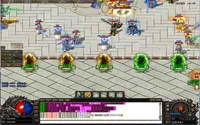 天黑鬼藏boss在1.76火龙英雄传世中应当如何打