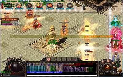 玩家在变态复古传奇中怎样挑战90级的BOSS